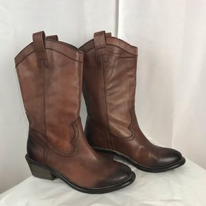 Arturo Chiang leather western boots sz 6.5